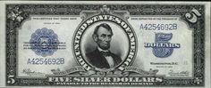 u.s. five dollar bill | Very Rare Old US Dollar Bills (22 pics)