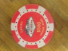 Casino chip pillow