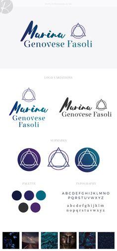 Mind body & soul brand design for Marina | byRosanna