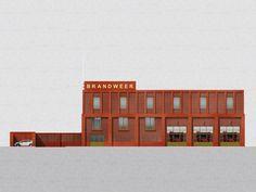 Happel Cornellisse Verhoeven | 1e prijs Brandweer Antwerpen