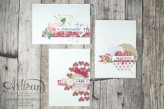 Valentine Cards made with First Sight, Picture Perfect, Blushing Bride Glimmer Paper and Love Blossom DSP Pack - Jessica Winter