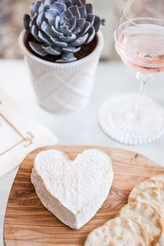 Heart shaped brie!