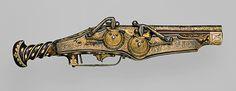Peter Peck: Double-Barreled Wheellock Pistol of Emperor Charles V (14.25.1425) | Heilbrunn Timeline of Art History | The Metropolitan Museum of Art