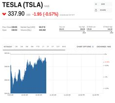 Tesla Stock Quote Adorable Home Insurance Stocks Sink After Report Says They Could Be Next To