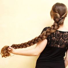 Beautiful Braids, Beautiful Long Hair, Office Hairstyles, Braided Hairstyles, Long Indian Hair, Haircuts For Long Hair, Long Straight Hairstyles, Super Long Hair, Braids For Long Hair