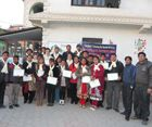 VIN successfully facilitated eight days training to 32 Nepali teachers through VIN's Teacher Development Program in Kathmandu last week from its international volunteer, Rachel Lam (Australian professional trainer) http://www.volunteersinitiativenepal.org/news_updates/vins-teacher-development-program-social-science/