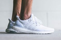 "A First Look at the adidas Ultra Boost ""Triple White"""