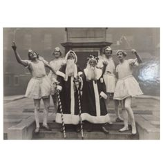 Albert Hester Photograph Christmas 1933 Clapton London, London Hospital Band | From a unique collection of antique and modern photography at https://www.1stdibs.com/furniture/wall-decorations/photography/