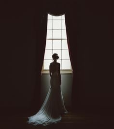 Bride with window light - Free The Bird Photography