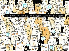 Cats + Music = Good.