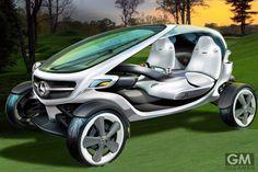 未来の自動車「ビジョンゴルフカート (Vision Golf Cart)」が走るコースとは?                                                                                                                                                                                 もっと見る
