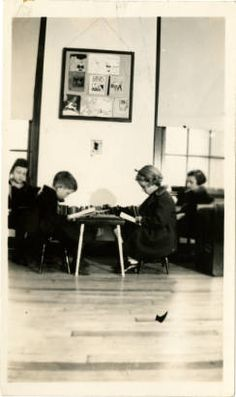 Amazing Caldwell County Lenoir Library Childrenu0027s Room With Children Reading At  Small Tables, 1938. State