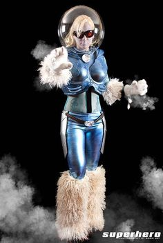 Mrs. Freeze cosplay by Freddie Nova