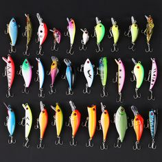 10pcs #6 Fishing Hooks Treble With Feather For Minnow Fishing Lures Crankbaits Y