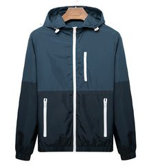 Sport Jacket Men  Summer Thin Windbreaker, thin jacket, summer hiking wear is ok