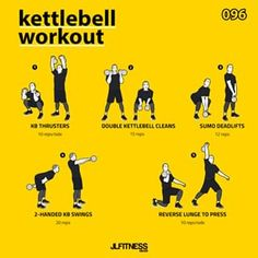 feed_image trainingsplan muskelaufbau Kettlebell Training- EMOM 012 … – Keep up with the times. Kettlebell Clean, Kettlebell Swings, Kettlebell Routines, Emom Workout, Gym Workouts, Workout Exercises, Dumbbell Workout, Workout Plans, Workout Ideas