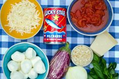 Melanzane Parmigiana – a different twist using Lucky Star Tinned Pilchards - a South African iconic tinned food