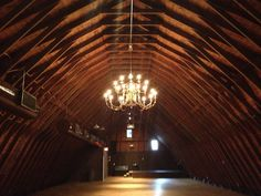 The upstairs at The Barn at Perona Farms My second choice spot