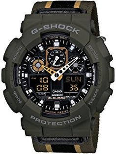 Casio G-SHOCK Military Color Series Men's Watch GA-100MC-3AJF (Japan Import)