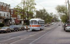 SEPTA Rt.56 trolley on Erie Ave.