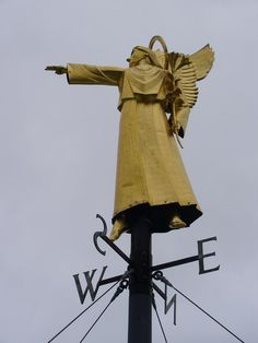 Cathedral weather vane
