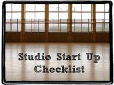 Dance Studio Start Up Checklist | DanceStudioOwner.com