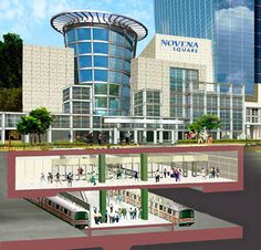 T.Y. Lin International Group | Projects | Novena Square