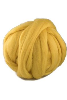 Merino wool top 19 micron: colour  Sun (5.50 USD) by DivinityFibers