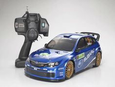 The Tamiya Subaru Impreza WRC rally car is a 1/10 scale radio control car release in the Expert Built series.    About the Model. This is a 1/10 ready-to-run R/C model of the 2008 WRC Impreza racing car.