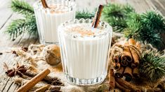 From spiced sake in Japan to Coquito in Puerto Rico, these festive drinks are a cause for celebration all on their own Aged Rum, Mulled Wine, Holiday Cocktails, Pavlova, Coconut Cream, Holiday Treats, Yummy Drinks, Raisin, Family Meals