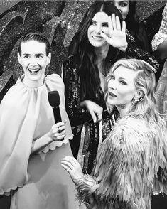 Ocean's 8 Cast, Happy Birthday Sarah, Ocean's Eight, Where To Buy Clothes, Madam President, Idole, Cinema, Girl Inspiration, Cate Blanchett