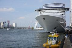 MSC Splendida in Rotterdam - Holland