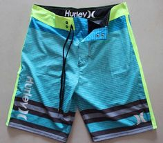 Stretch board shorts hurley mens boardshorts surf shorts trucks bermuda 30 32 #hurley #BoardSurf