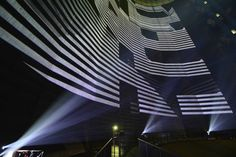 [Video] URBANSCREEN | Projection Mapping The Interior Of A Massive Gas Tank | The Creators Project