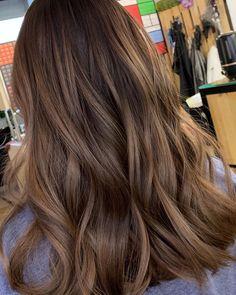 Brown Hair Balayage, Hair Color Balayage, Hair Highlights, Honey Brown Hair, Light Brown Hair, Black Hair Dyed Brown, Brown Hair Inspiration, Hair Shades, Hair Color And Cut