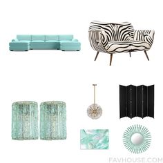 Interior Design Wish List Including Joybird Furniture Sofa Zebra Couch Fontanaarte Wall Light And Task Light From May 2016 #home #decor