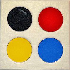 Pop Art Primary  Pressed Eyeshadow Palette by ImpulseCo on Etsy, $25.00