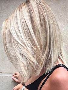 think cool Bob hairstyles medium length is the most suitable for ladies, these trendy hairstyles this year is good for you image. Medium Hair Cuts, Short Hair Cuts, Medium Hair Styles, Short Hair Styles, Medium Cut, Blonde Hair Styles Medium Length, Medium Length Haircuts, Medium Long, Short Pixie