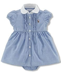 Polo Ralph Lauren Baby Girls' Oxford Dress