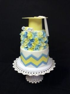 Top Chevron Cakes