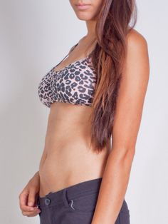 34eded1147744f Cheetah lace back bandeau! Great addition to any outfit!  cheetah   animalprint