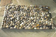 How to DIY Stone Floor Mat - CraftSmile