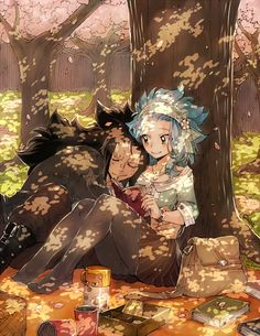Awww it's another masterpiece of Gajeel and Levy :D  Anime/Manga = Fairy Tail