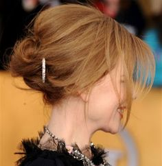 Red carpet hairstyles I like (and some hair tips)