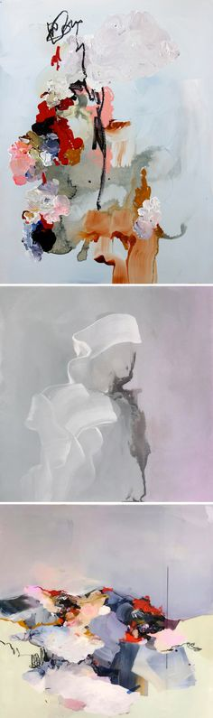 abstract paintings by janna watson <3