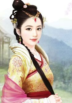 Rebirth of The Malicious Empress Shen Yue Creative Pictures, Beauty Paintings, Fantasy Paintings, Chinese Art Painting, Chinese Culture, Art Girl, Art, Ancient Beauty, Fantasy Girl
