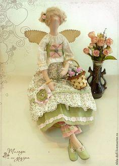 Купить Кукла Тильда Цветочная фея Розочка - тильда, кукла Тильда, куклы тильды