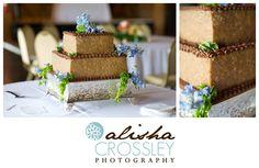 German Chocolate Groom's Cake   {Cypress Inn, Tuscaloosa, AL/ Donna Pow Cakes}    http://www.alishacrossleyphotography.com/