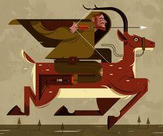 Illustrator Nicholas Little | ILLUSTRATION AGE