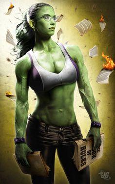 "She Hulk Virtual nerd muses - Chamando Superamigos : MUSAS NERDS EM ""REALIDADE"" DIGITAL"